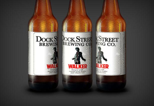 A cerveja feita de cérebros! (Foto: Dock Street Brewery)