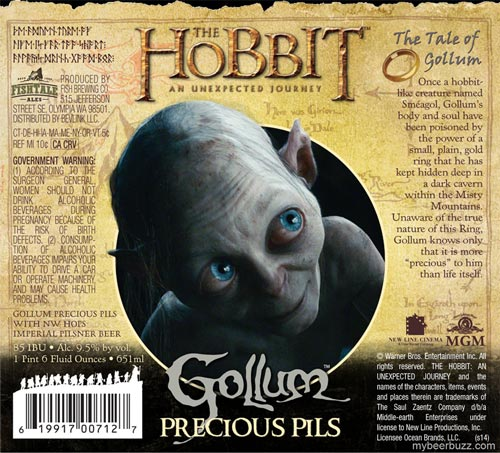 The Hobbit (An Unexpected Journey) Gollum Precious Pils