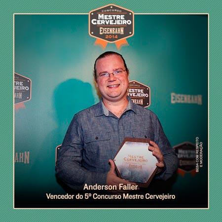 Vencedor Concurso Mestre Cervejeiro Eisenbahn 2014
