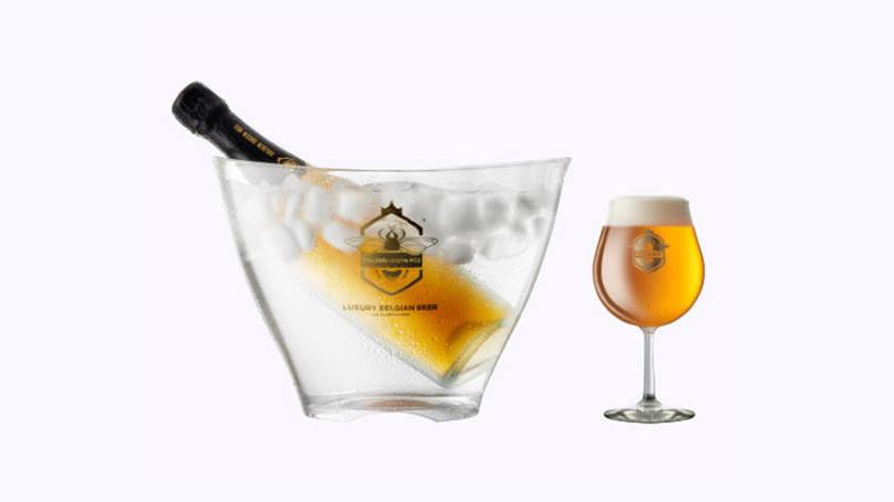 Golden Queen Bee - Cerveja com Ouro